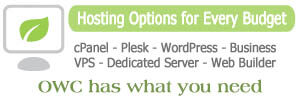OWC Offers Many Web Hosting Options